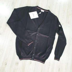 NWT Moncler Men Sweat Shirt Black